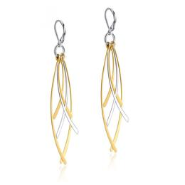 Long Drop Earrings for Women Stainless Steel Tassel Ear