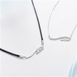 Necklaces Women Men Pendants Fashion S925 Sterling Silver Jewelry Love Pendent Lucky Couple Jewelry