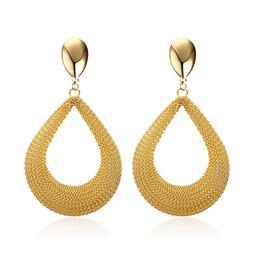 Fashion Big Drop Earring For Women Gold color Hyperbole Unique Earings