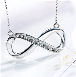 Crystals From Swarovski Necklace Women Pendant S925 Sterling Silver Fashion Jewelry