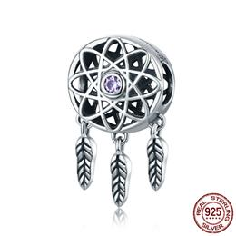 Hot Sale Genuine 925 Sterling Silver Beautiful Dream Catcher Holder Bead...