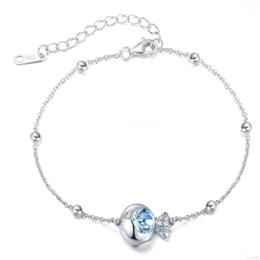 Women Bracelet For Women Bangle Austrian Rhinestone S925 Sterling Silver