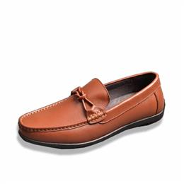 Genuine Leather Men Shoes Fashion Brand Men Flats Comfy Driving Shoes