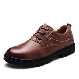 Light Martin Boots Men Shoes Male Business Casual Lace-Up Comfortable Shoes