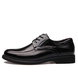 Men Dress Shoes Genuine Leather Oxfords Lace-Up Business Work Shoes Flats