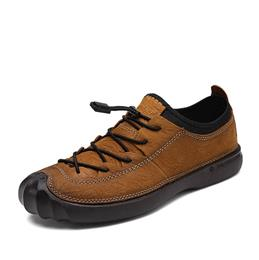 New Style Causal Fashion England Style Men Genuine Leather Jogging Shoes