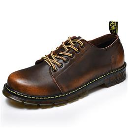 Genuine Leather Casual Shoes Leather Brand Men Shoes Work Safety Boots Designer Men Flats