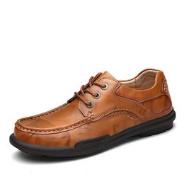 Men Genuine Leather Shoes High Quality Lace Up Men Oxfords Mens Leather Shoes