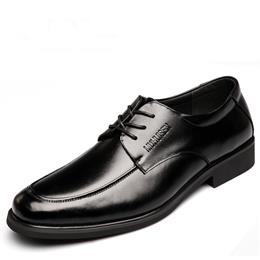 Luxury Men Dress Formal Shoes Fashion Male Oxford Business Wedding Shoes