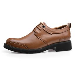 Guaranteed 100% Genuine Leather Men Dress Shoes Man Brogues Oxfords Monk...
