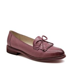 Women Loafers Moccasin Genuine Leather Sheepskin Pointed Toe Lady Flats ...