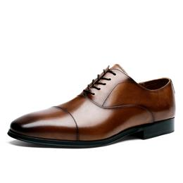 Luxury Men's Classic Dress Shoes Lace-up Business Summer Derby Shoes