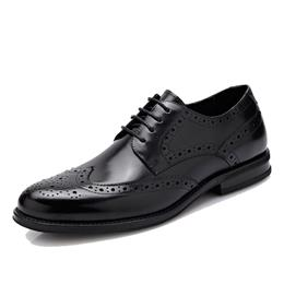 Classic Bullock Carved Flower Casual Lace-up Brand Business Gentleman Shoes