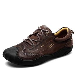 New Style Head Layer Cowhide Men Casual Leather Shoes Outdoor Men Shoes