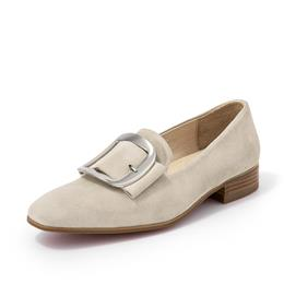Women Genuine Leather Flat Heel Ladies Flats Kid Suede Casual Shoes