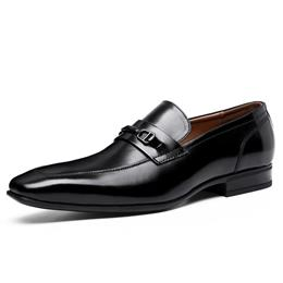 New Arrival Men Leather Shoes Formal Dress Shoes Men's Business Casual Shoes