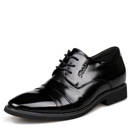 Oxford Business Men Shoes Genuine Leather Men's Dress Flats Shoes