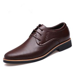 Summer Men Dress Formal Shoes Male Oxfords Shoes Casual Business Wedding Shoes