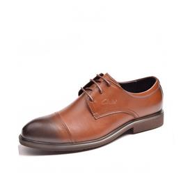 Comfortable Business Shoe Men Dress Shoes Lace-Up Men Oxford Leather Shoes