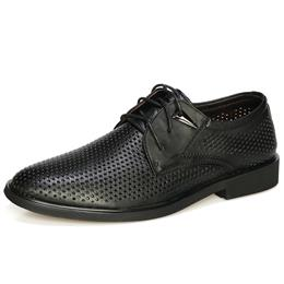 Genuine Leather Shoes Dress Shoes Men Oxford Breathable Summer Formal Shoes