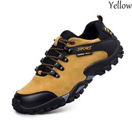 Men's Casual Low Breathable Outdoor Genuine Leather Boots