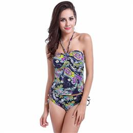 High Waist Swimsuit Tankini Bathing Suits Most Popular Tankini Women Large Plus Size