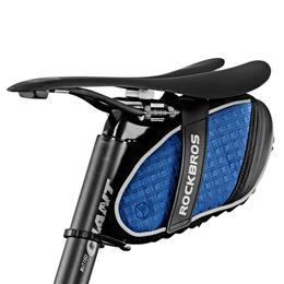 Bicycle Bag 3D Shell Rainproof Saddle Bag Reflective Bike Bag Shockproof...