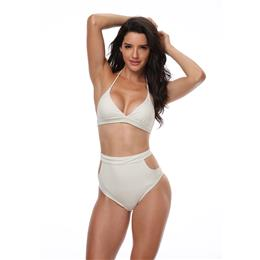 Sexy Hollow out Brazilian Bikinis Women Swimwear Solid Beach Bathing Suit Push Up Bikini Set