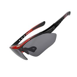 Polarized 5 Lenses Sports Sunglasses Cycling Riding Outdoor Bicycle Moun...
