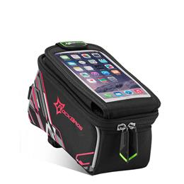Waterproof Bicycle Bag Touch Screen Phone 6.0 Inch Bike Bag With Rain Cover Reflective Cycling Bicycle