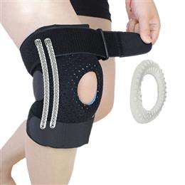 1PCS Meniscus Knee Pads Silica Gel Kneepads Hiking Running Basketball Kn...
