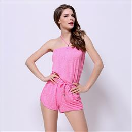 Hot Sale Women Rompers Beach Dress 3XL Rayon Cover-Up