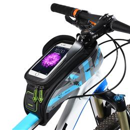 MTB Road Bicycle Bike Bags Rainproof Touch Screen Cycling Top Front Tube Frame Bags