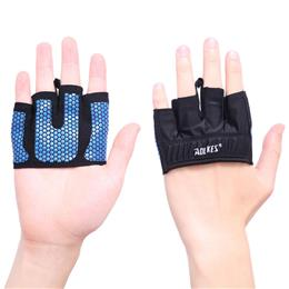 1 Pair Four Finger Weightlifting Crossfit Gloves Yoga Sport Mittens Sil...