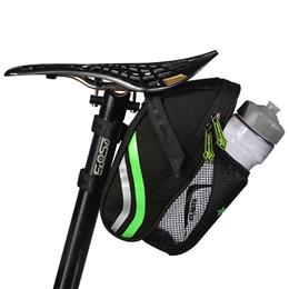 Outdoor Cycling Mountain Bike Back Seat Bicycle Rear Bag Nylon Bike Saddle Bag