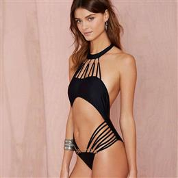 Hot Sales Spider-net Bandage Trikini Swimwear Hollow Out Swimwear