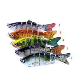 6 jointed Crankbait Fishing Wobblers 10cm 18g Lifelike Fishing Lure