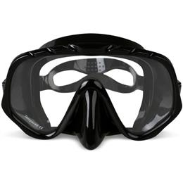 Professional Skuba Diving Mask Goggles Wide Vision Watersports Equipment