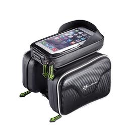 Waterproof Bicycle Front Tube Frame Bag MTB Bike Bicycle Touchscreen Phone Bags