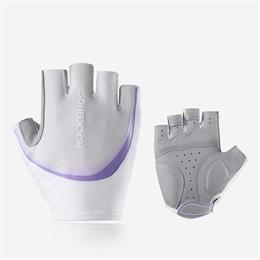 Women Sports Gloves Cycling Gloves Breathable Washable Half Finger Riding Gloves