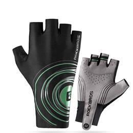 Men Sports Half Finger Anti Slip Gel Pad Bicycle MTB Road Bike Gloves