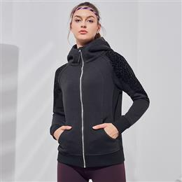 Winter Sports Hoodies Women's Printed Running Yoga Jackets