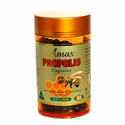 Amax Propolis 500mg 365 Capsules A15G-365