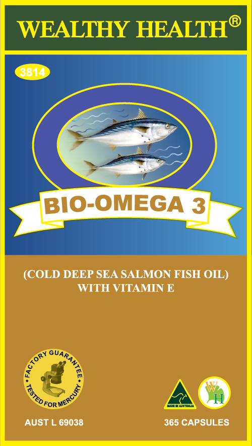 Wealthy Health Bio-Omega-3 365 Capsules BO365P