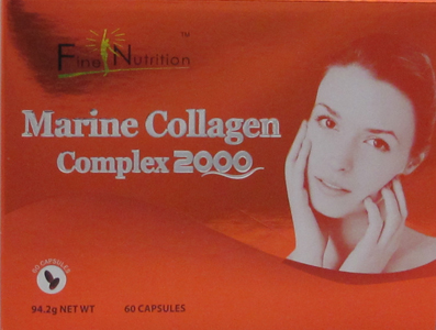Fine Nutrition Marine Collagen Complex 2000 with 60 Capsules