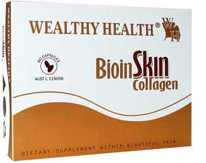 Wealthy Health Bioinskin Collagen 60's BISK60BW