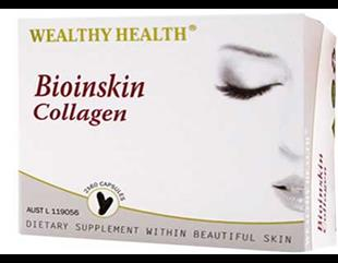 Wealthy Health Bioinskin Collagen 120's BISK120W