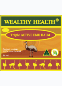 Wealthy Health Triple Active Emu Balm