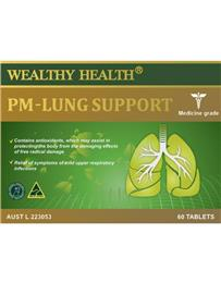Wealthy Health PM-Lung Support 60 Tablets