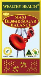Wealthy Health Maxi Blood Sugar Balance 60 Tablets SB60G